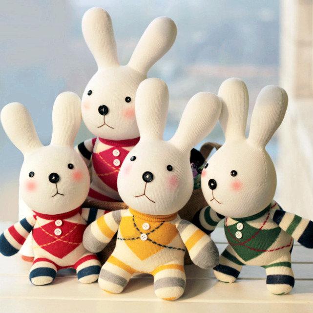 无需任何手工基础,却能so easy制作出超可爱的小兔子!