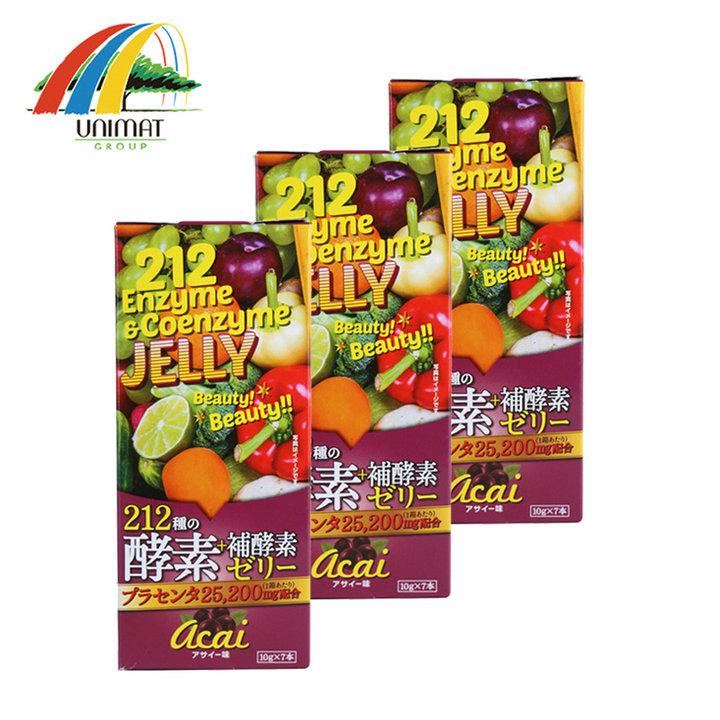 unimat·212酵素果冻巴西莓味70g*3盒图片