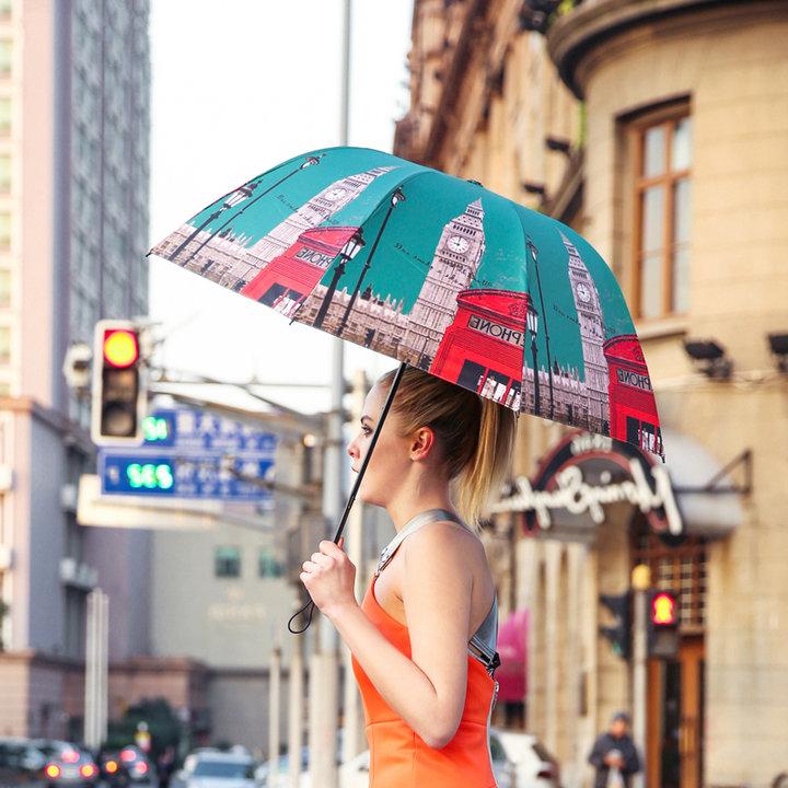菲诺·三折创意晴雨伞图片