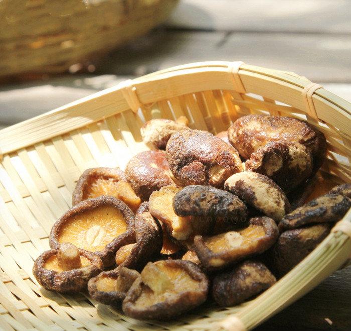 大熊十品香菇脆即食香菇脆片干75g脱水果干蔬菜干果蔬脆干零食