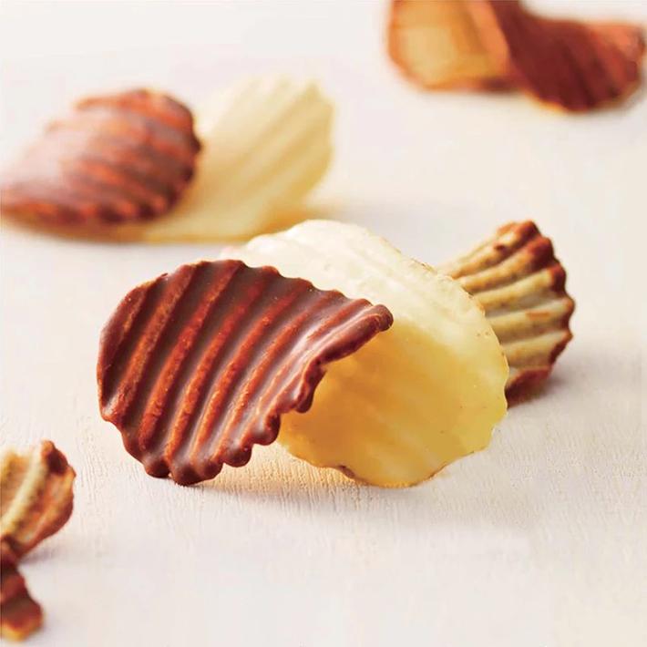 原味巧克力味奶油礼盒装日本北海道进口零食
